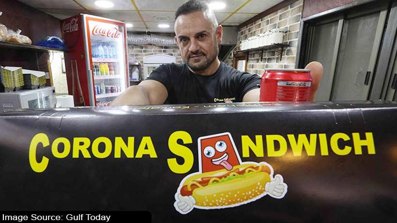 'Corona Sandwich' improves footfall in the city of Bethlehem