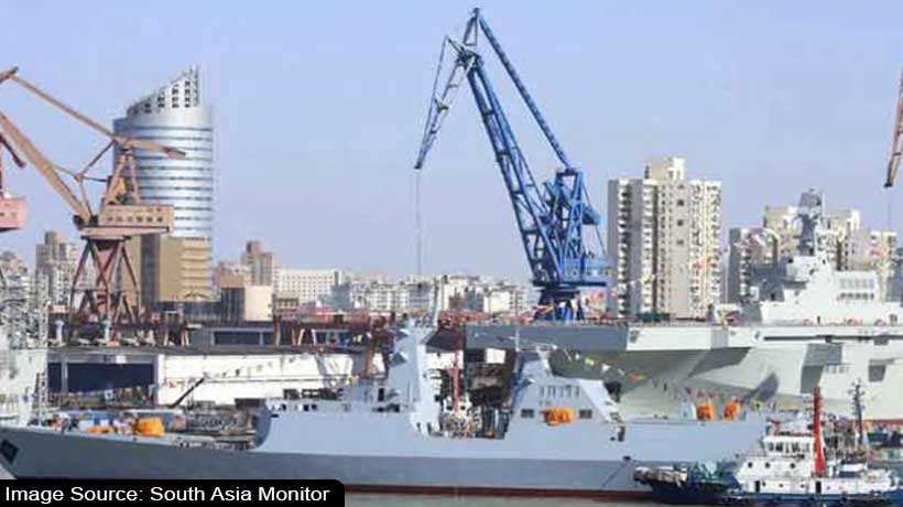 china-launches-second-cutting-edge-warship-for-pakistan-navy