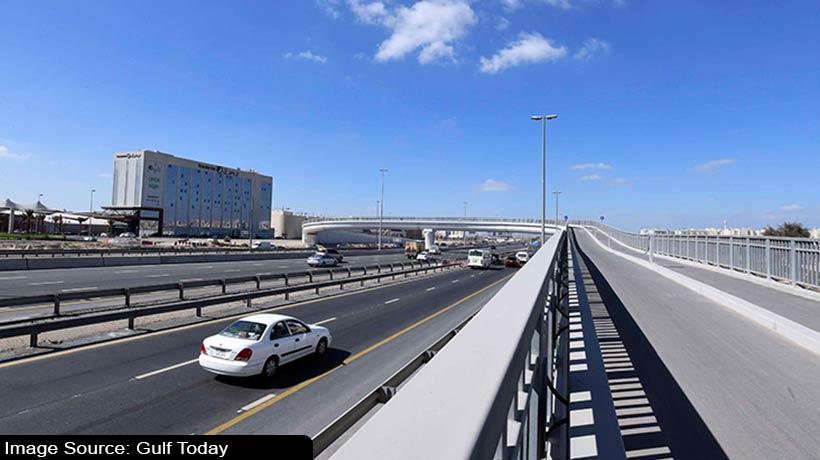 रास अल खोर रोड पर बनकर तैयार हुआ नया पुल