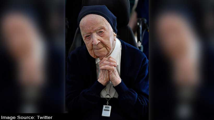 Europe's oldest person survives COVID-19 ahead of her 117th birthday