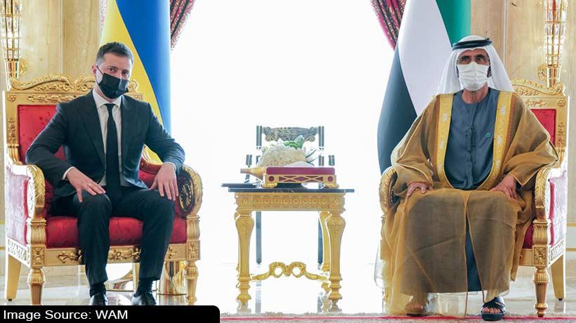 uae-vice-president-receives-president-of-ukraine