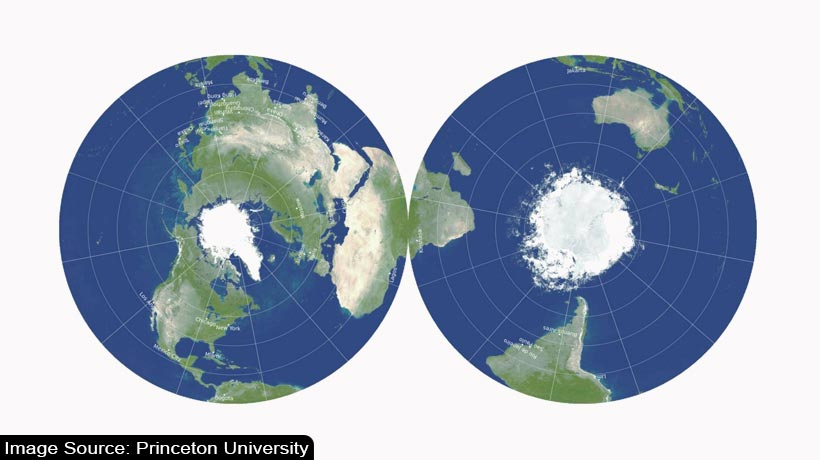 earth-reimagined:-princeton-university-team-creates-most-accurate-world-map