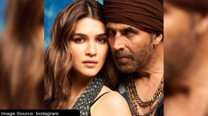 its-a-wrap-kriti-sanons-1st-look-of-bachchan-pandey-with-akshay-kumar