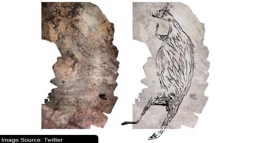 the-oldest-rock-art-in-australia-is-a-17300-year-old-kangaroo