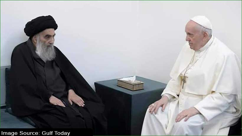 Pope Francis heads back to the Iraqi capital Baghdad