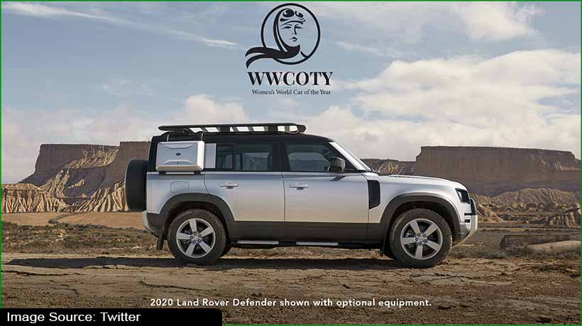 Land Rover Defender bags Women's World Car of the Year award