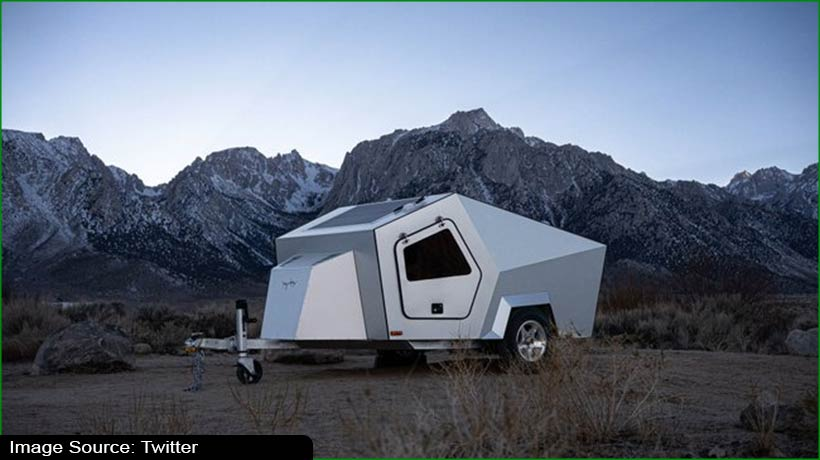 This trailer has been designed for electric vehicle towing