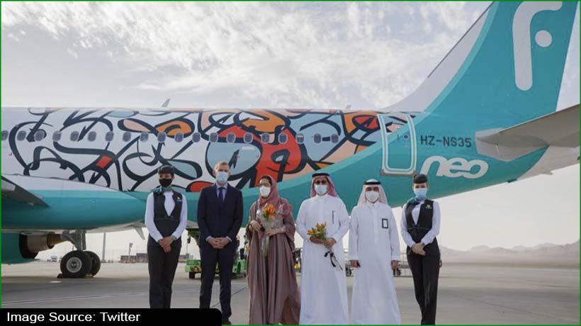 saudi's-alula-airport-receives-inaugural-flynas-flight-from-riyadh