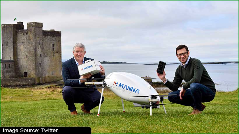 samsung-partners-with-manna-for-drone-deliveries-in-ireland
