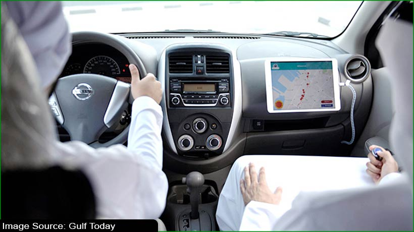 sharjah-police-offer-driving-license-test-at-applicant's-place-of-choice