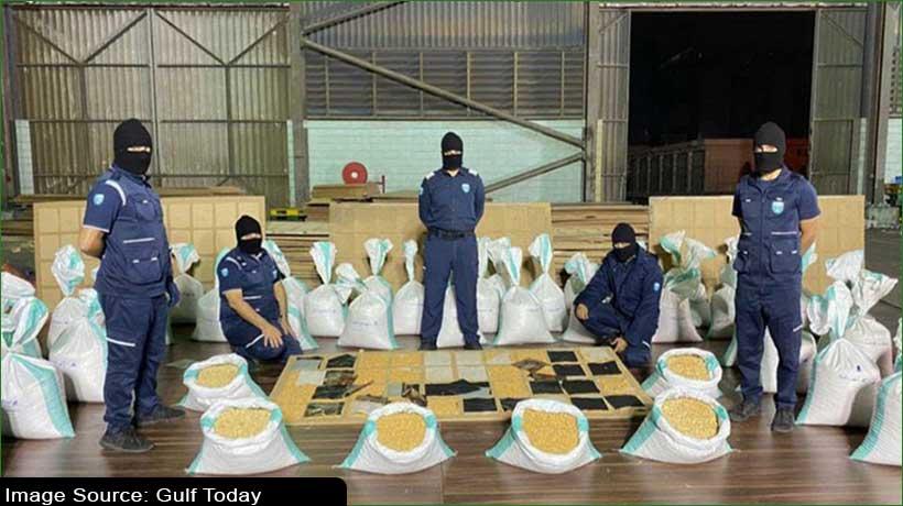 saudi-customs-department-seizes-1.3-million-captagon-pills-from-fur-clothes