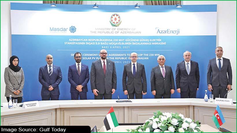 Masdar to develop Azerbaijan solar power plant