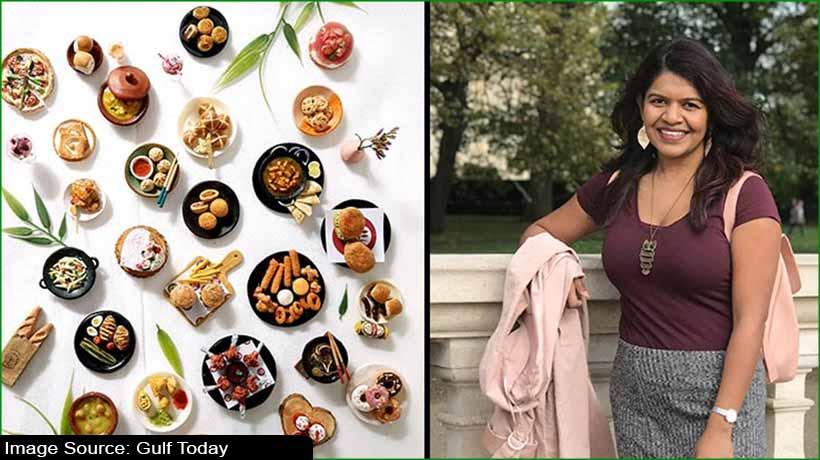 Dubai-based artist aspires big with food miniatures