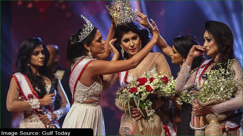 Sri Lanka police arrest 'Mrs World' for on-stage brawl