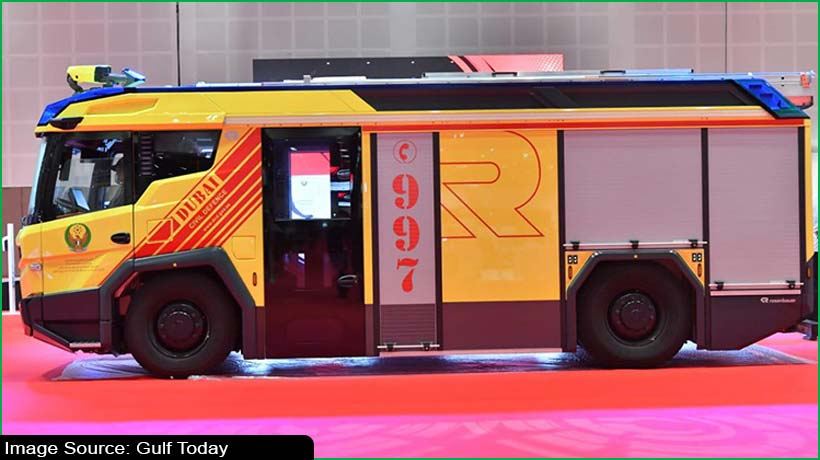 Dubai launches 1st electric firefighting vehicle in Middle East