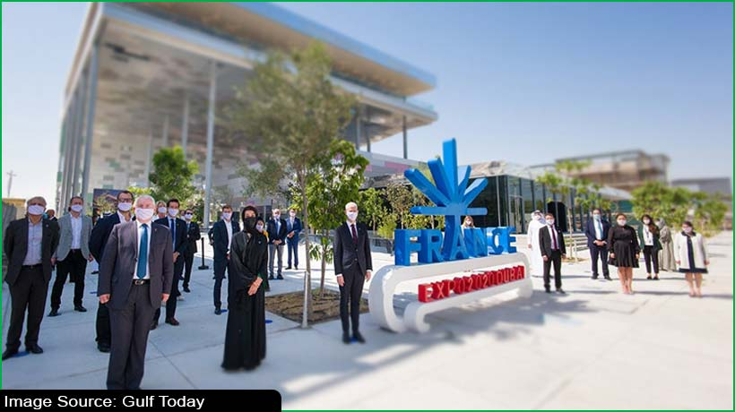 Officials inaugurate French Pavilion at Expo 2020 Dubai