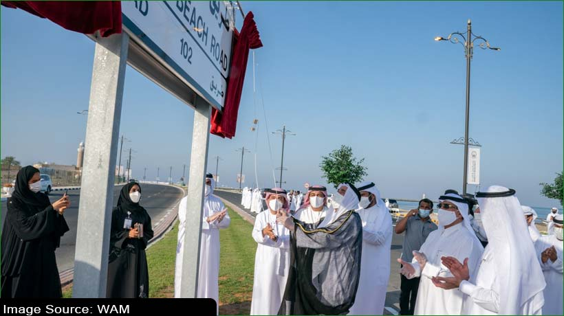 sharjah-ruler-inaugurates-new-corniche-on-kalba-beach