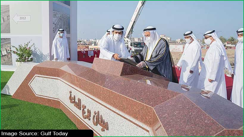 sharjah-ruler-lays-foundation-stone-for-kalba-clock-tower-square