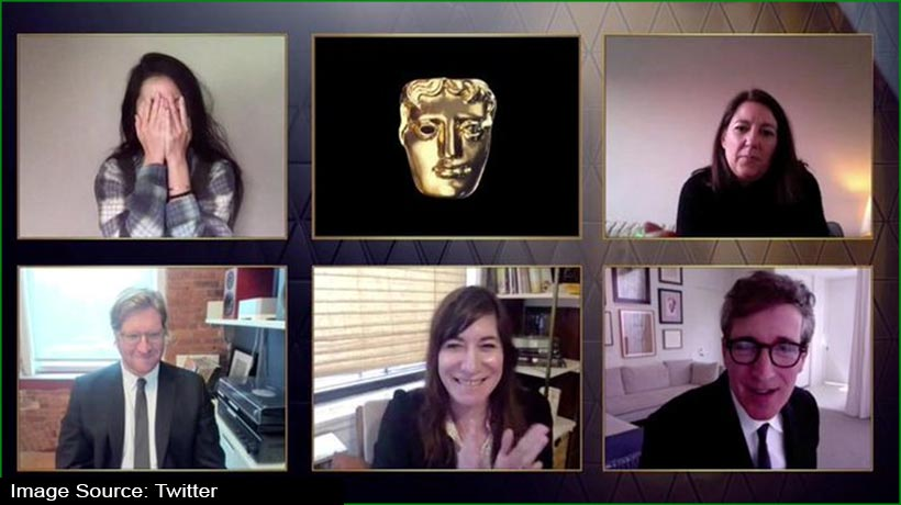bafta-2021:-director-chloe-zhao's-'nomadland'-steals-show-with-four-awards