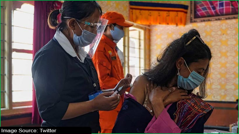 covid-19-vaccination:-bhutan-covers-93percent-of-adult-population-in-16-days