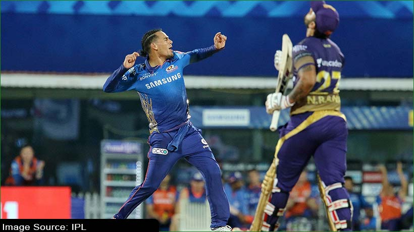 IPL 2021: MI bolwers keep it tight to beat KKR by 10 runs