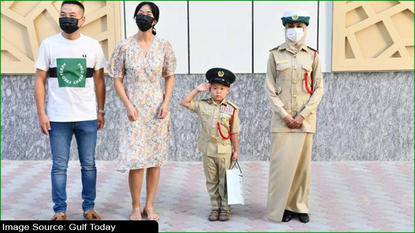 dubai-police-fulfils-dream-of-nine-year-old-asian-child