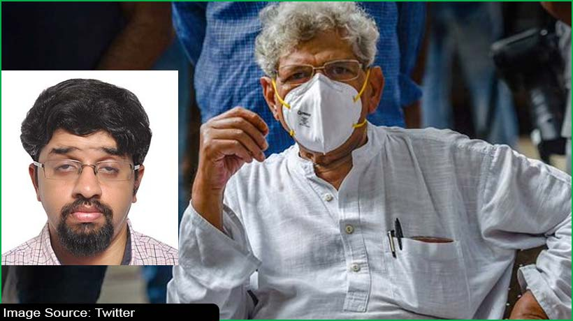 India Marxist party leader Sitaram Yechury loses his son, 34, to Covid-19