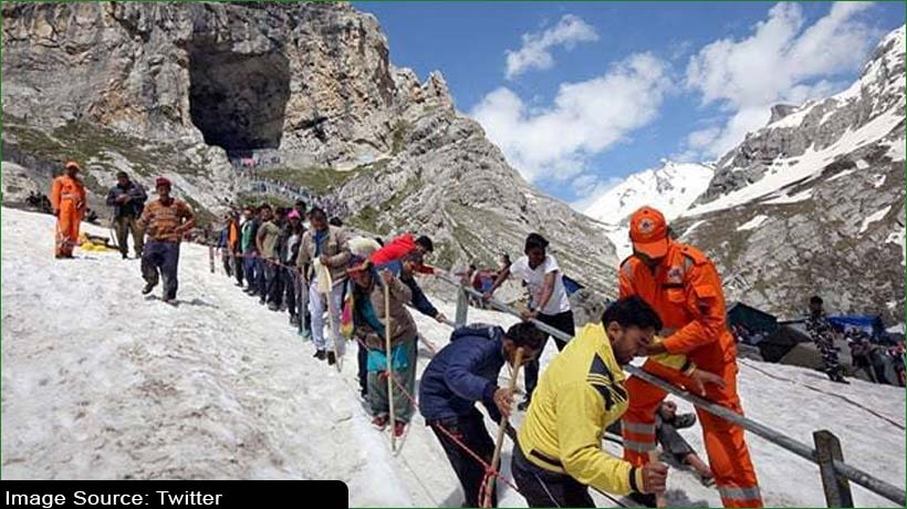 Registration suspended for Amarnath Yatra