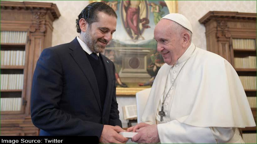 लेबनान पीएम पद के उम्मीदवार ने पोप फ्रांसिस से मांगी मदद