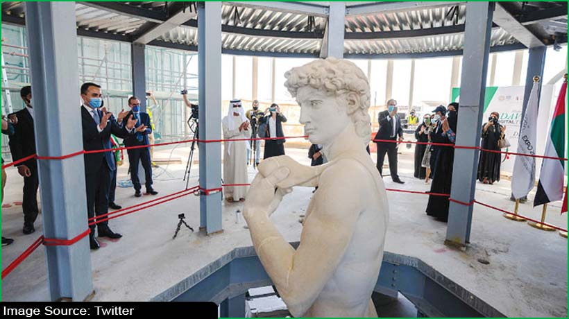 michelangelo's-david-adorns-italian-pavilion-at-dubai-expo-2020