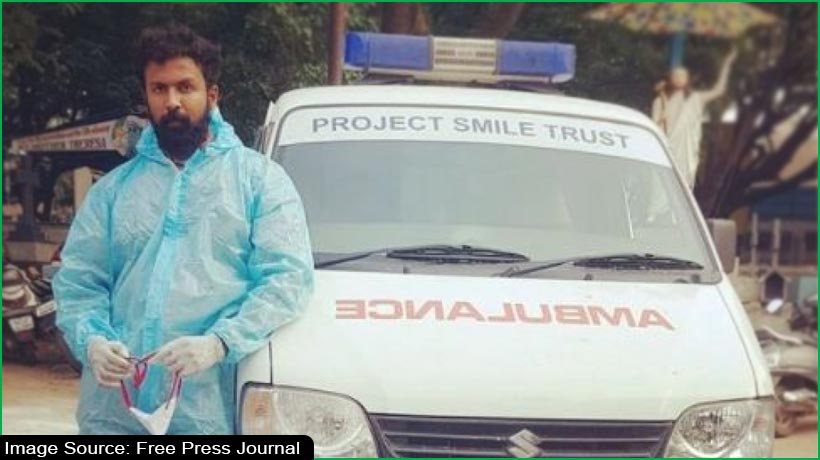 kannada-actor-arjun-gowda-becomes-ambulance-driver-for-covid-19-patients