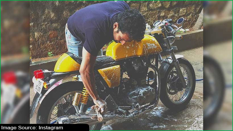 Telugu actor sells his bike to raise fund for oxygen supplies for needy