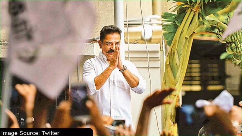 Kamal Hassan registers a narrow win by 72 votes from Coimbatore South