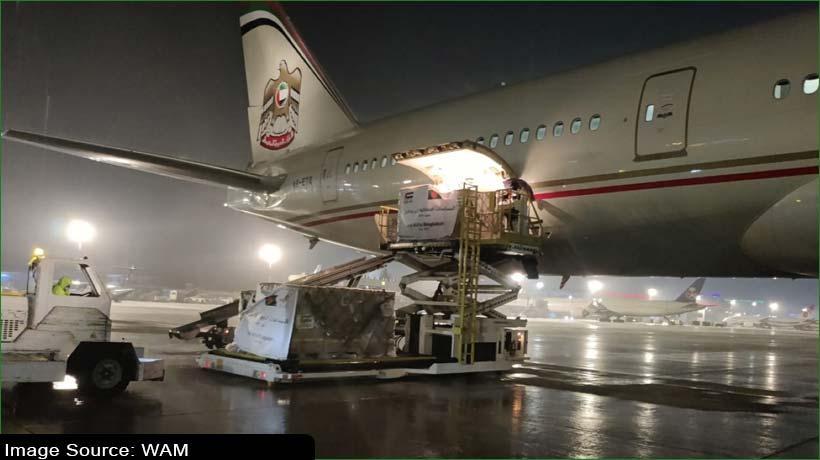 uae-transfers-50-metric-tonnes-of-food-supplies-to-bangladesh