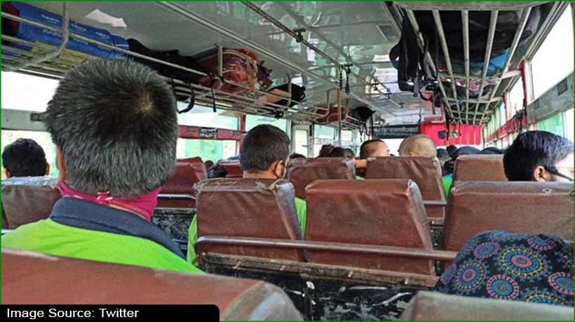 मध्यप्रदेश में अंतरराज्यीय बस सेवा परिवहन 23 मई तक स्थगित