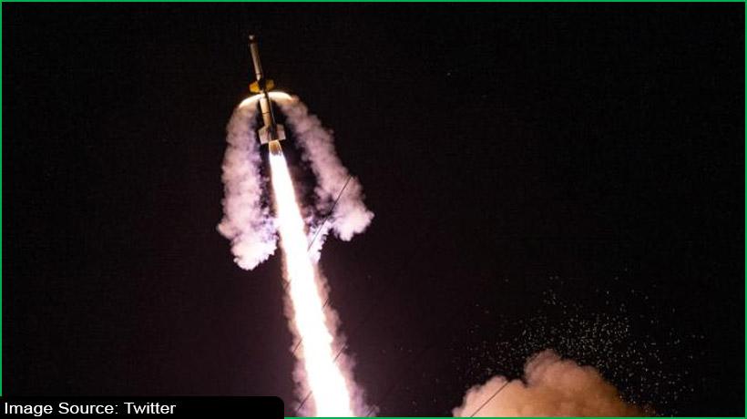 नासा ने लॉन्च किया ब्लैक ब्रेंट XII साउंडिंग रॉकेट
