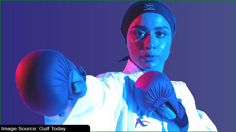 यूएई की महिला कराटे खिलाड़ी अजामी की नजर टोक्यो ओलंपिक पर