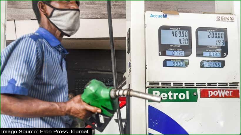 17वीं बढ़ाए गए पेट्रोल-डीजल के दाम