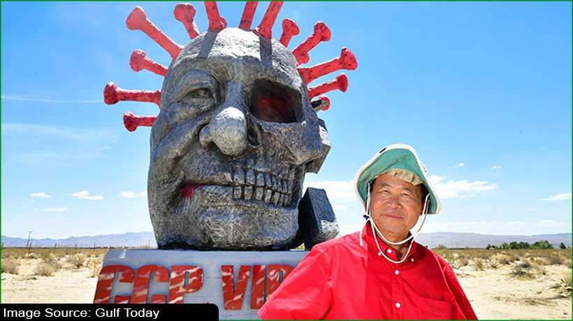 chinese-artist-chen-weiming's-latest-sculpture-on-display-in-california