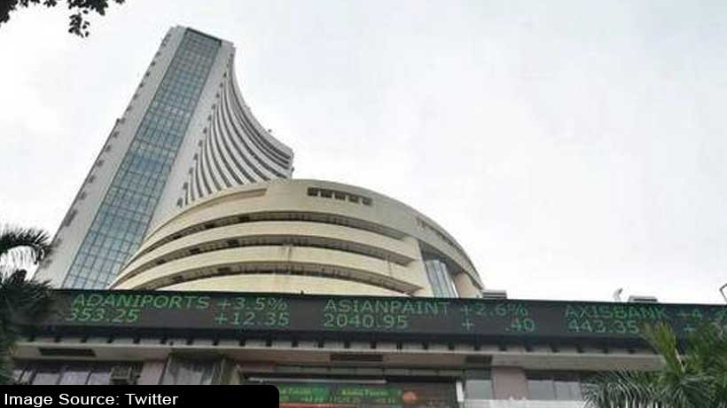 Indices close in red as RBI revises growth projection