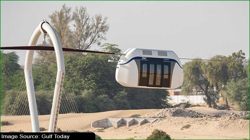 sharjah's-first-high-speed-electric-sky-pod-to-travel-at-130kph