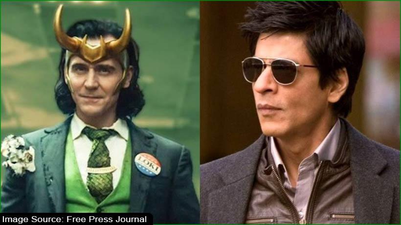 shah-rukh-khan-is-loki's-favourite-bollywood-celebrity