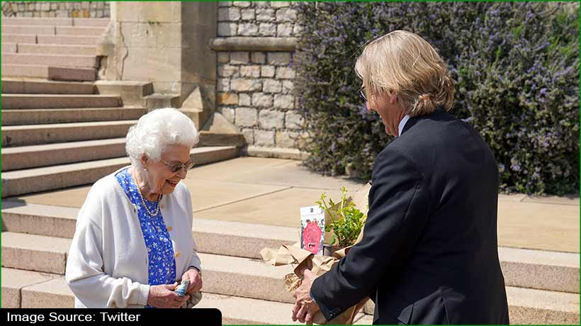 UK's Queen gifted newly bred rose to mark Prince Phillip's 100th birthday