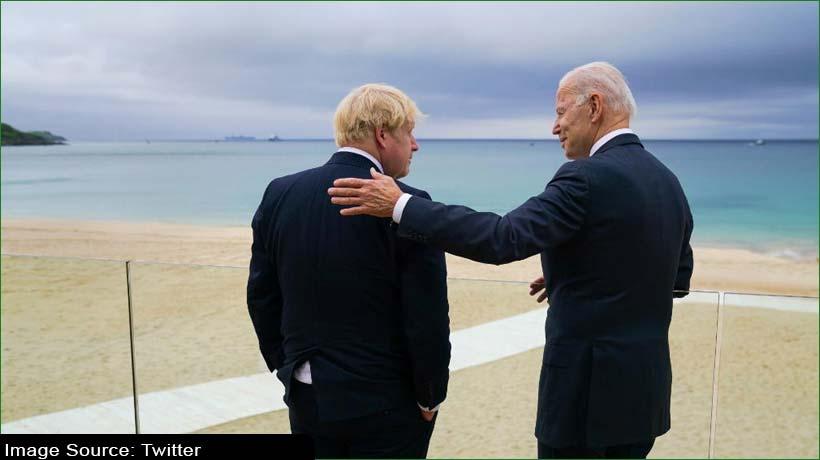 US President Joe Biden is breath of fresh air, says Boris Johnson