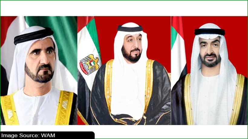 UAE leaders offer condolences to Kuwait Emir on death of royal member
