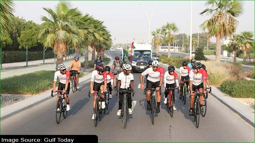 saudi-adventurer-reaches-abu-dhabi-on-bicycle