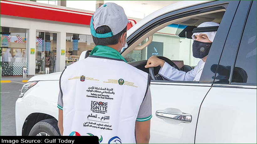 uae-launches-campaign-for-safety-of-life-at-fuel-stations