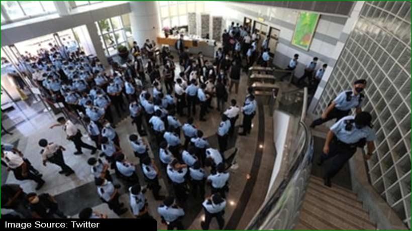 hong-kong-apple-daily-newsroom-declared-'crime-scene'