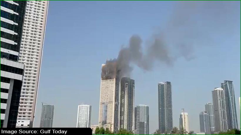 Fire breaks out in Sharjah's Al Taawun area