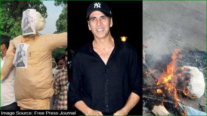 akshay-kumar's-effigy-burnt-over-film-title-'prithviraj'